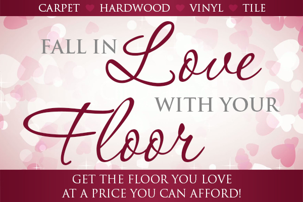 Fall In Love With Your Floor | Get the floor you love at a price you can afford!
