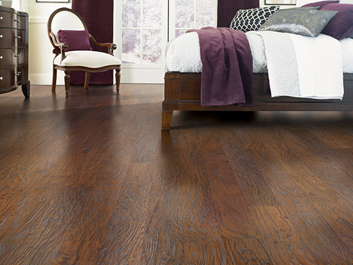 Beautiful Laminate flooring from BK Floors To Go in Evansville, IN.
